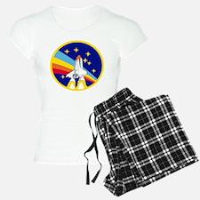 Rainbow Rocket Pajamas