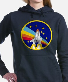 Rainbow Rocket Women's Hooded Sweatshirt