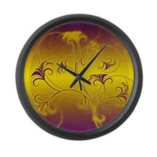fullbleed8 Large Wall Clock