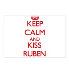 Keep Calm and Kiss Ruben Postcards (Package of 8)