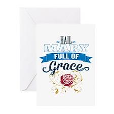 Hail Mary Greeting Cards