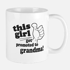 Promoted to Grandma Mugs