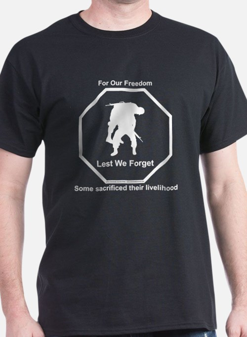 Cute Wounded warrior T-Shirt