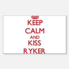 Keep Calm and Kiss Ryker Decal
