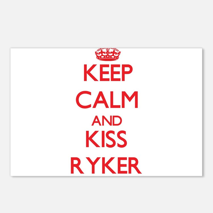 Keep Calm and Kiss Ryker Postcards (Package of 8)