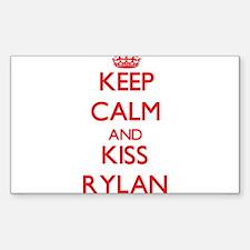 Keep Calm and Kiss Rylan Decal