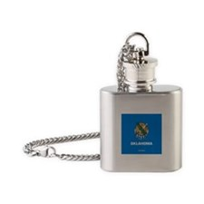 OK Flask Necklace