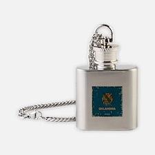 OK Vintage Flask Necklace