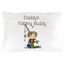 Daddy's Fishing Buddy Pillow Case