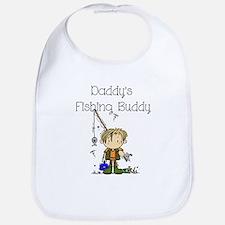 Daddy's Fishing Buddy Bib