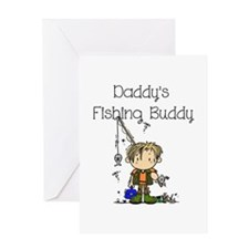 Daddy's Fishing Buddy Greeting Card