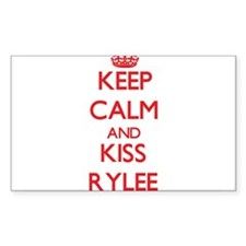 Keep Calm and Kiss Rylee Decal