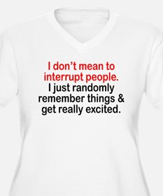 I DONT MEAN TO INTERRUPT PEOPLE. I JUST RANDOMLY R