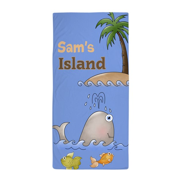 Personalized Beach Towel For Toddler: Personalized Kids Beach Towel By Theglorysite