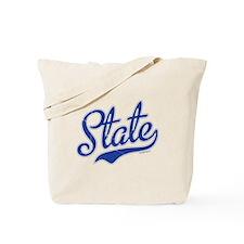 State Script Font Tote Bag