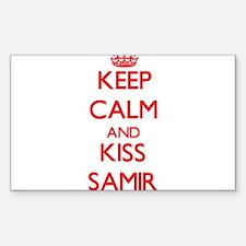 Keep Calm and Kiss Samir Decal