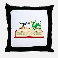 Storybook Throw Pillow