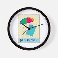 Beach Lover Wall Clock
