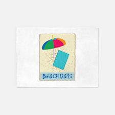 Beach Days 5'x7'Area Rug
