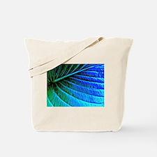 Abstracted Leaf Tote Bag