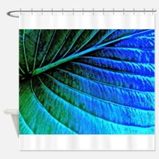 Abstracted Leaf Shower Curtain