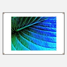 Abstracted Leaf Banner