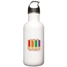You Are Cool Like A Popsicle! Water Bottle