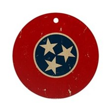 TN Vintage Ornament (Round)
