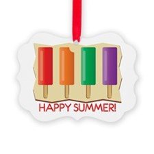 Happy Summer Ornament