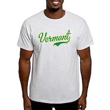 Vermont Script Font T-Shirt