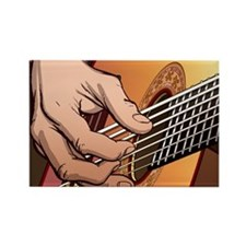 Cool Guitar pick Rectangle Magnet