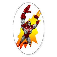 Cute Super hero iron Decal