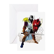 Funny Throne Greeting Card