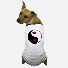 Ladybug Yin Yang Dog T-Shirt