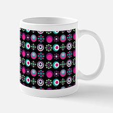 Retro Circle Pattern Mug