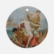 Triumph of the Marine Venus Round Ornament
