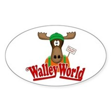 National Lampoon Walley World Moose Sign Bumper Stickers