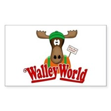 National Lampoon Walley World Moose Sign Stickers