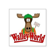 National Lampoon Walley World Moose Sign Sticker