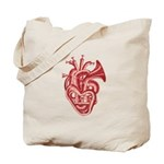 Heart music Tote Bag