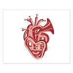 Heart music Poster Design