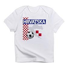 Cute Croatia Infant T-Shirt