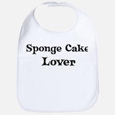 Sponge Cake lover Bib