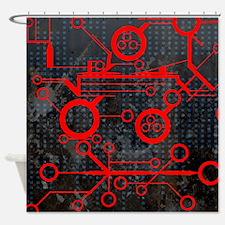 fullbleed19 Shower Curtain