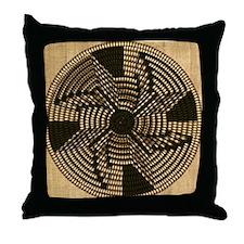 Harvest Moons Pima Basket Throw Pillow