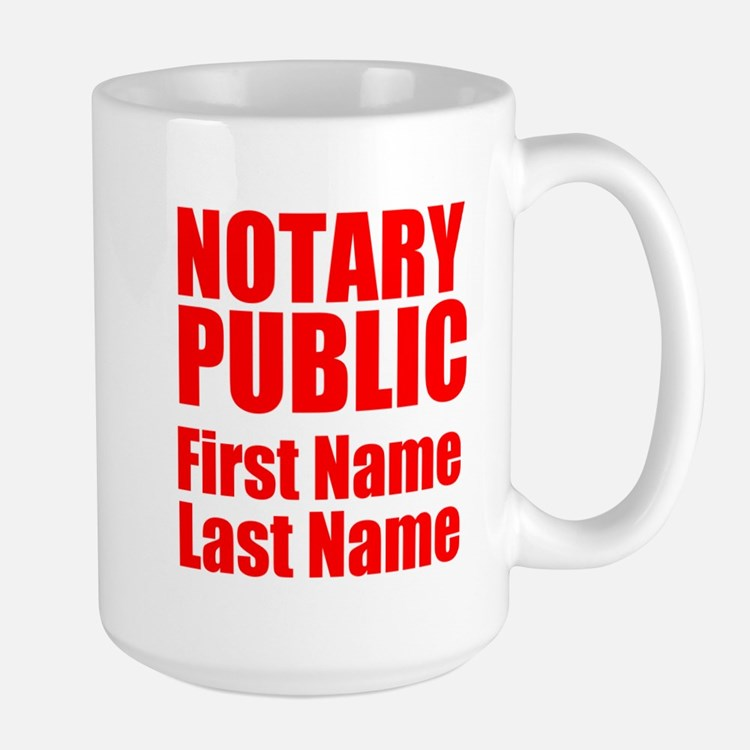 Notary Public Mugs