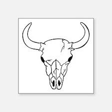 Longhorn Skull Sticker