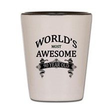 World's Most Awesome 90 Year Old Shot Glass