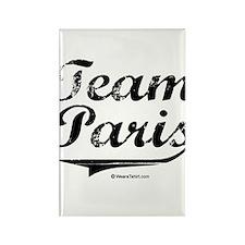 Team Paris Rectangle Magnet
