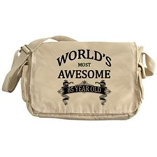 World's Most Awesome 85 Year Old Messenger Bag